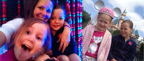 disneyland with girls