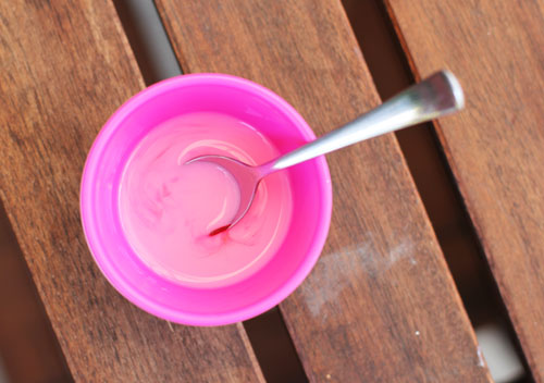 colorful toast mlik | thisweekfordinner.com