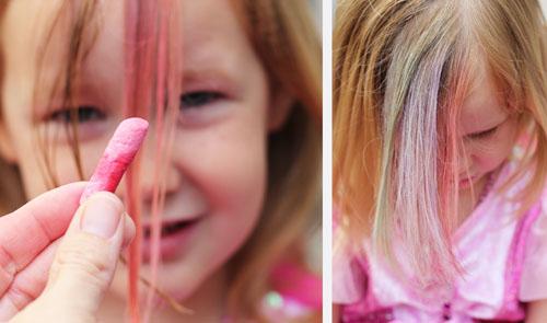 easy colored hair for summer | thisweekfordinner.com