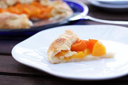 apricot peach galette | thisweekfordinner.com