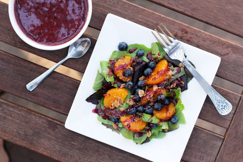 blueberry breakfast salad | thisweekfordinner.com