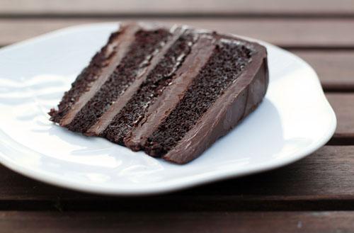 SoNo Chocolate Ganache Cake | thisweekfordinner.com