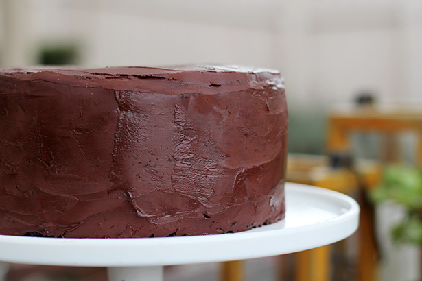 SoNo Chocolate Ganache Cake, the best chocolate cake in the world on @janemaynard