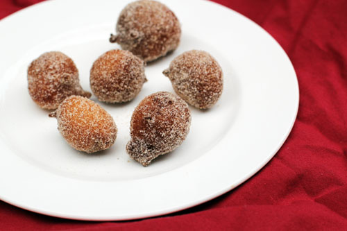 cinnamon-sugar doughnut drops | thisweekfordinner.com