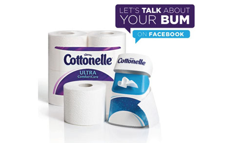 let's talk about your bum | cottonelle | thisweekfordinner.com