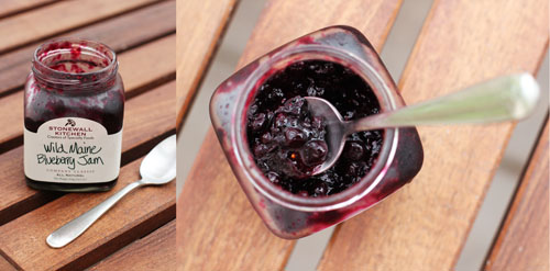 stonewall kitchen maine blueberry jam | thisweekfordinner.com