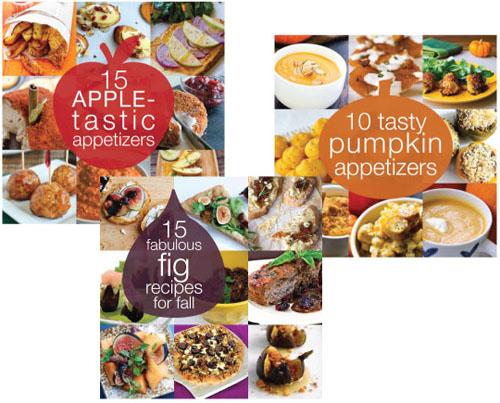 apple pumpkin fig roundups | thisweekfordinner.com