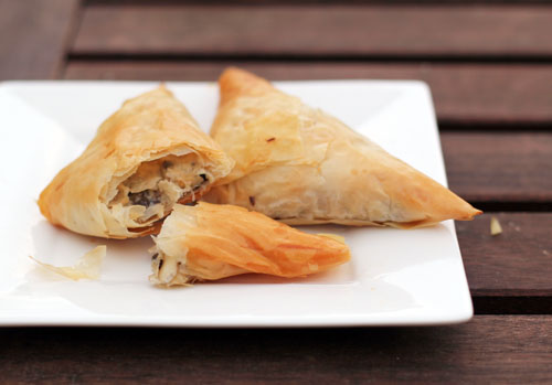 chicken croissants phyllo   thisweekfordinner.com
