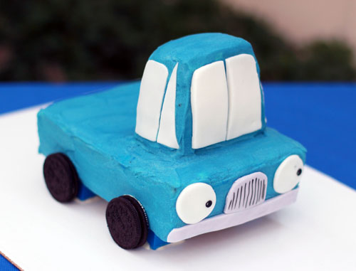 Enjoyable This Week For Dinner Little Blue Truck Birthday Cake A This Week Funny Birthday Cards Online Fluifree Goldxyz