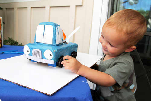 owen and his cake   thisweekfordinner.com