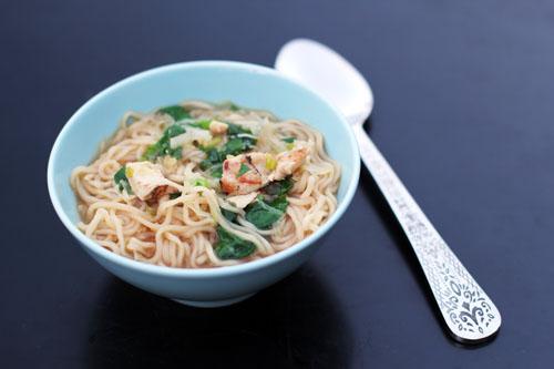 easy asian chicken noodle soup aka homemade ramen | from @janemaynard at thisweekfordinner.com