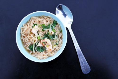 easy asian chicken noodle soup aka homemade ramen | from @janemaynard at thisweekfordinner.com