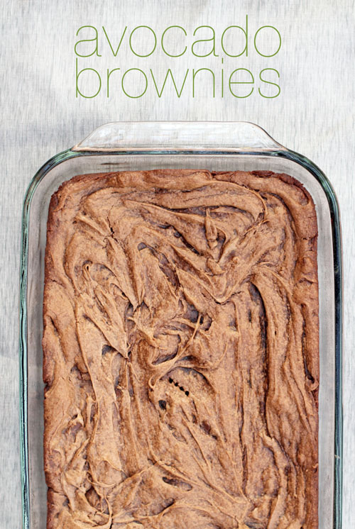 avocado brownies from 'absolutely avocados' | thisweekfordinner.com