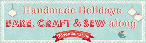 handmade holidays bake, craft and sew-along #bakecraftsew