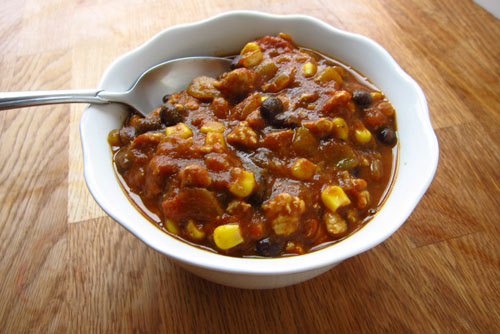 snack girl's pumpkin chili recipe | thisweekfordinner.com