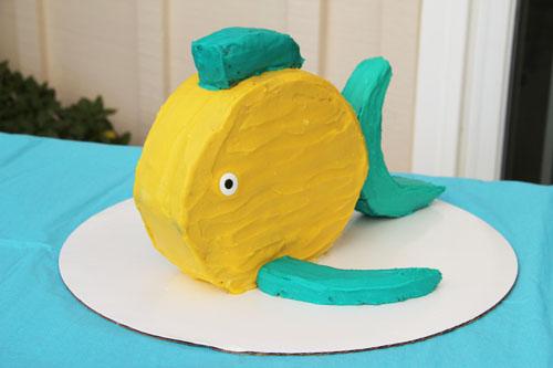 anna's fish birthday cake from @janemaynard
