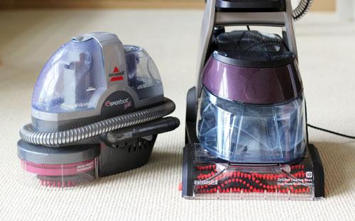 BISSELL DeepClean Premiere Carpet Cleaner Review & Giveaway | thisweekfordinner.com