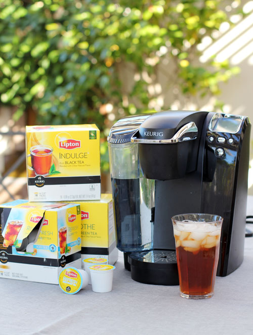 keurig brewer and lipton k-cup giveaway from @janemaynard