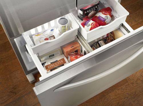 KitchenAid Counter-Depth French Door Refrigerator   Freezer Drawer   thisweekfordinner.com