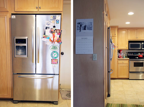 KitchenAid Counter Depth French Door Refrigerator | thisweekfordinner.com