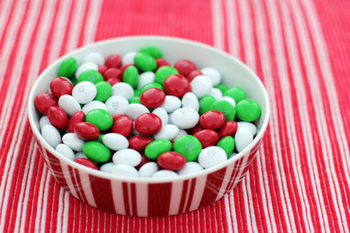chocolate mint M&M cookies from @janemaynard