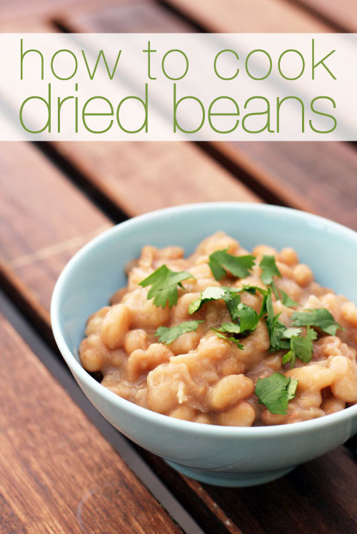 how to cook dried beans from @janemaynard (it's easy peasy!)