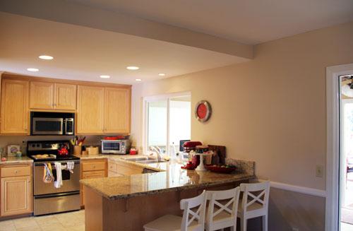 kitchen after cabinet removed from @janemaynard