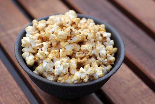 perfect salted caramel corn
