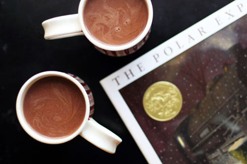 polar express hot chocolate from @janemaynard