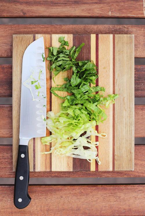 simple iceberg lettuce substitute from @janemaynard