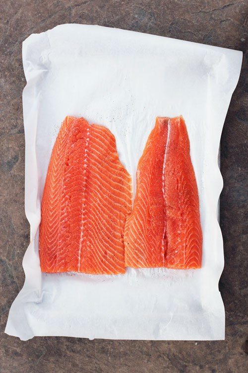 maple soy glazed salmon from @janemaynard
