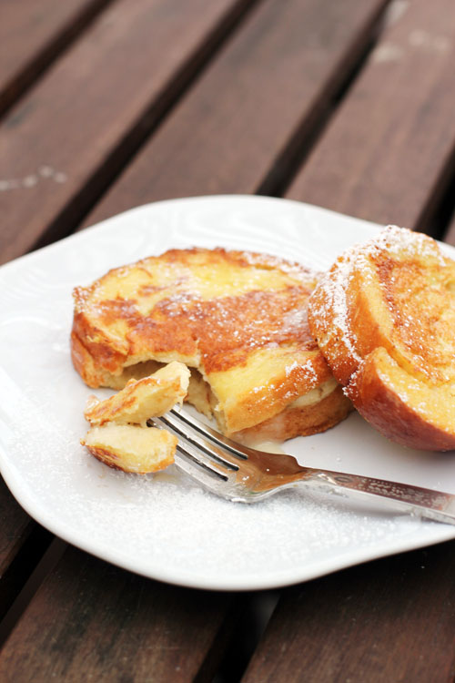 french toast with banana french toast caramel banana french toast but ...