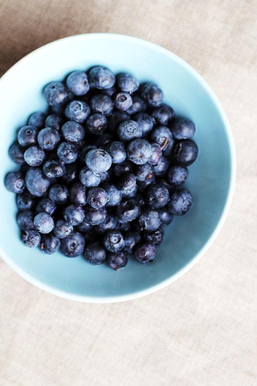 beautiful blueberries from @janemaynard