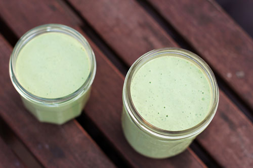 creamy tomatillo dressing (cafe rio knock off) from @janemaynard
