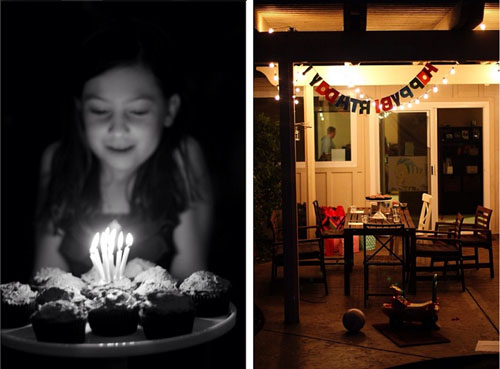 family birthday party on the patio from @janemaynard
