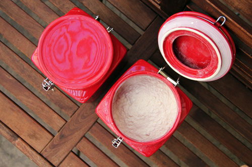 flour and sugar storage bins from @janemaynard