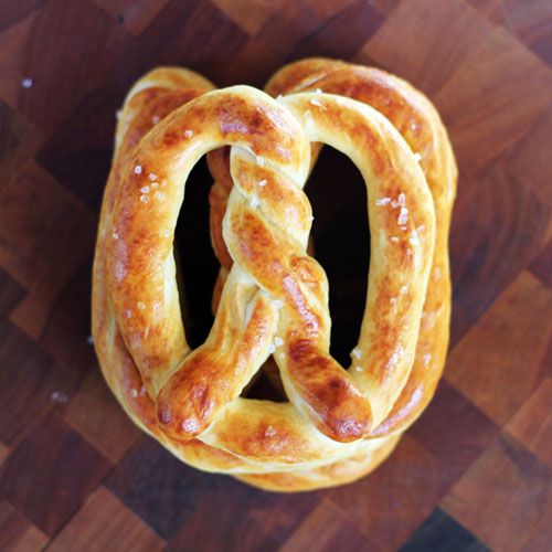 homemade amish pretzels from @janemaynard