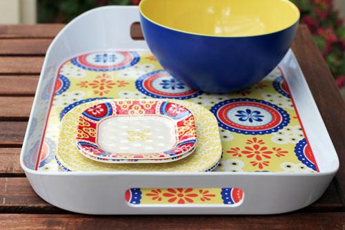 Q Squared NYC Montecito Dinnerware from @janemaynard