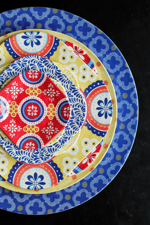 Q Squared NYC Montecito Dinnerware from @janemaynard