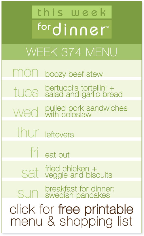weekly dinner menu from @janemaynard including free printable meal plan and shopping list!