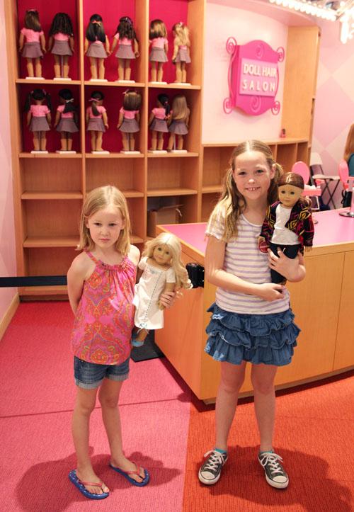 the la american girl store by @janemaynard