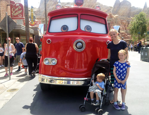 cars land at california adventure at disneyland by @janemaynard