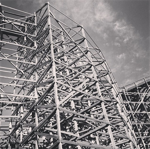 the ghostrider at knott's berry farm by @janemaynard
