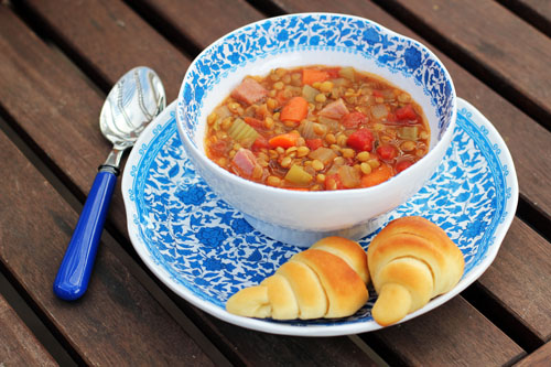 the only lentil soup recipe you'll ever need from @janemaynard