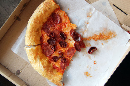 milo + olive pizza  by @janemaynard