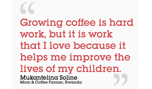 fair trade usa | quote from rwandan worker and mother mukantelina soline | from @janemaynard