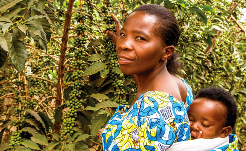 fair trade usa | rwandan worker and mother mukantelina soline | from @janemaynard