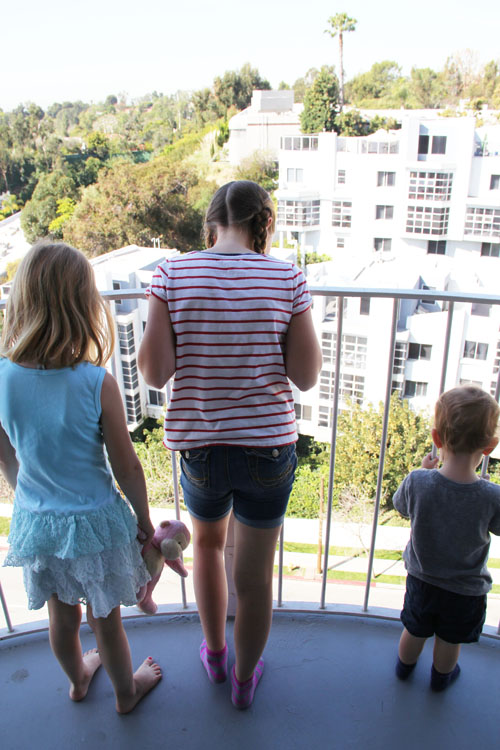 hotel angeleno view from the room by @janemaynard