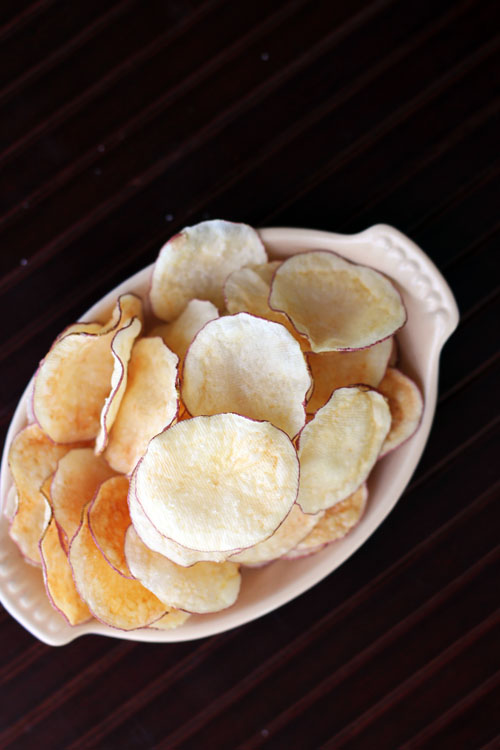 homemace microwave potato chips from @janemaynard