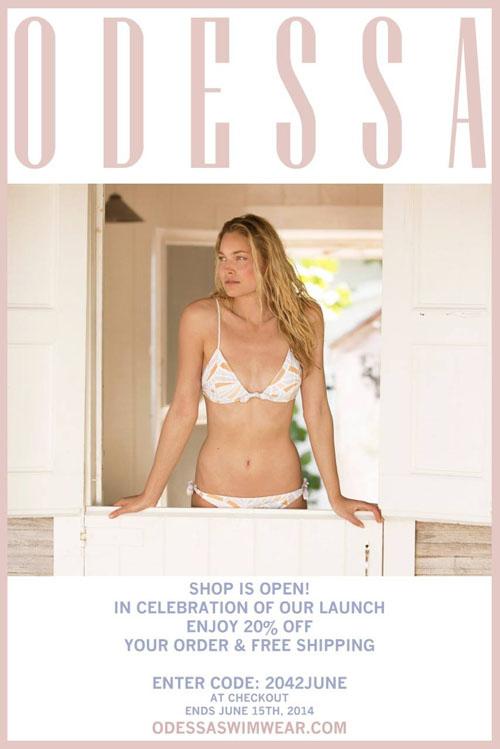 Introducing Odessa Swimwear!